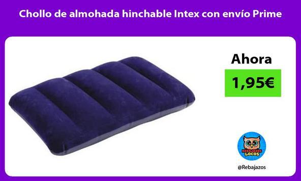 Chollo de almohada hinchable Intex con envío Prime