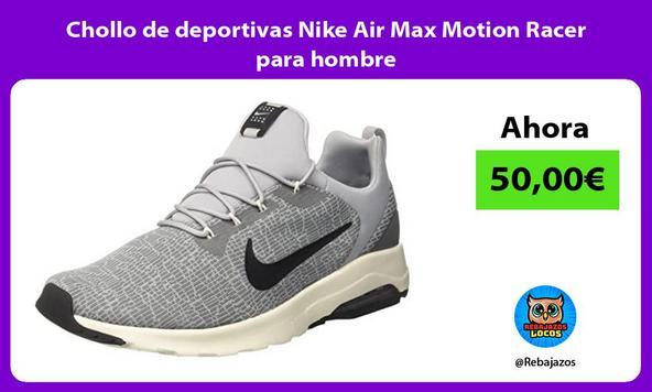Chollo de deportivas Nike Air Max Motion Racer para hombre