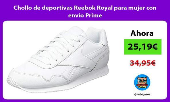 Chollo de deportivas Reebok Royal para mujer con envío Prime