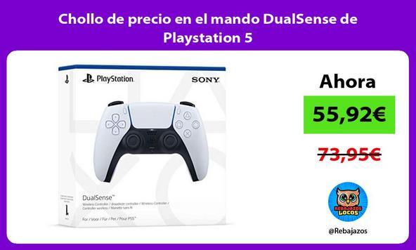 Chollo de precio en el mando DualSense de Playstation 5