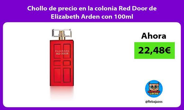Chollo de precio en la colonia Red Door de Elizabeth Arden con 100ml