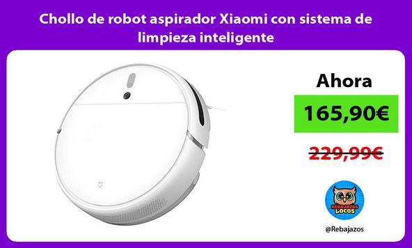 Chollo de robot aspirador Xiaomi con sistema de limpieza inteligente