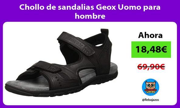 Chollo de sandalias Geox Uomo para hombre