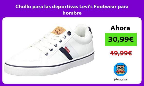 Chollo para las deportivas Levi's Footwear para hombre