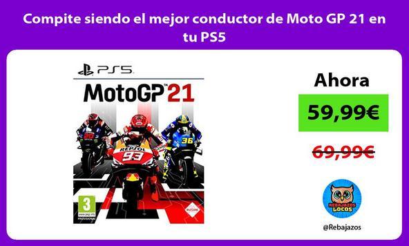 Compite siendo el mejor conductor de Moto GP 21 en tu PS5