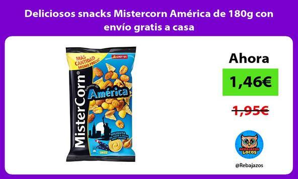 Deliciosos snacks Mistercorn América de 180g con envío gratis a casa