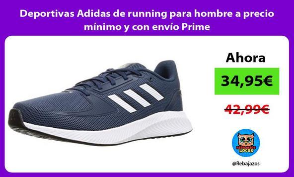 Deportivas Adidas de running para hombre a precio mínimo y con envío Prime