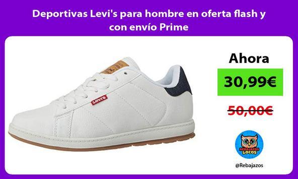 Deportivas Levi's para hombre en oferta flash y con envío Prime