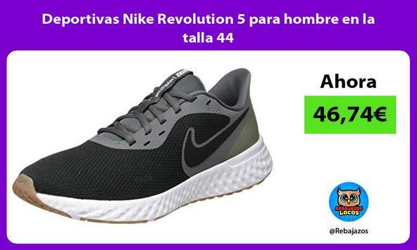 Deportivas Nike Revolution 5 para hombre en la talla 44