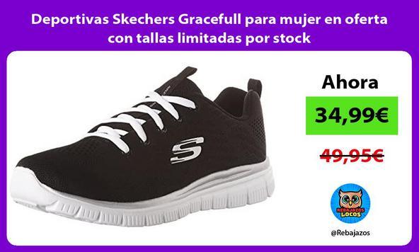 Deportivas Skechers Gracefull para mujer en oferta con tallas limitadas por stock