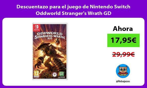 Descuentazo para el juego de Nintendo Switch Oddworld Stranger's Wrath GD