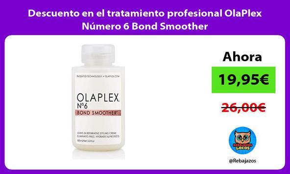 Descuento en el tratamiento profesional OlaPlex Número 6 Bond Smoother