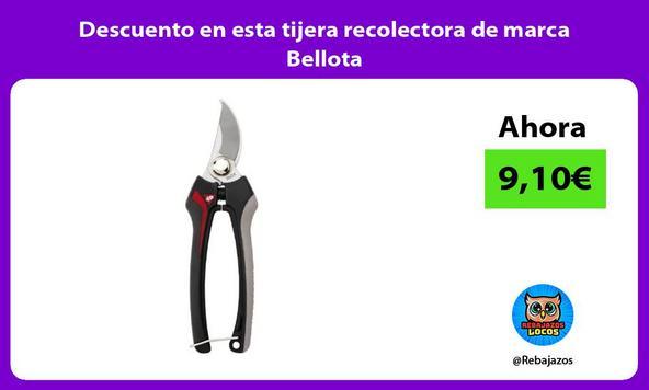Descuento en esta tijera recolectora de marca Bellota
