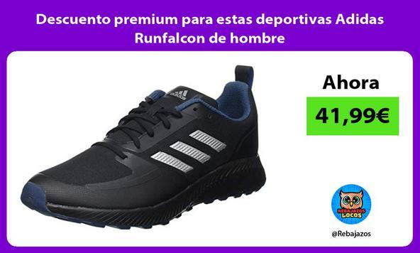 Descuento premium para estas deportivas Adidas Runfalcon de hombre