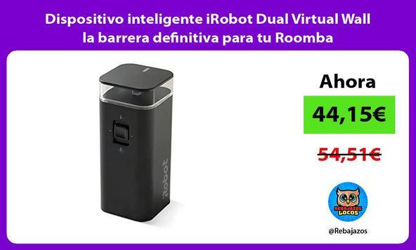 Dispositivo inteligente iRobot Dual Virtual Wall la barrera definitiva para tu Roomba