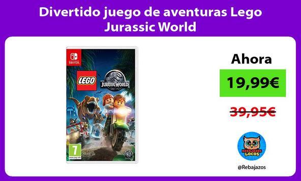 Divertido juego de aventuras Lego Jurassic World