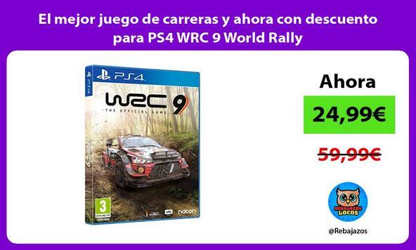 El mejor juego de carreras y ahora con descuento para PS4 WRC 9 World Rally