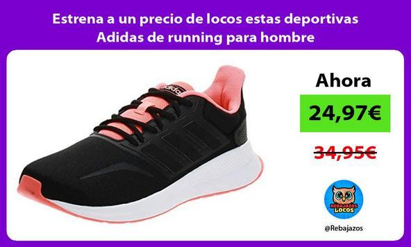 Estrena a un precio de locos estas deportivas Adidas de running para hombre
