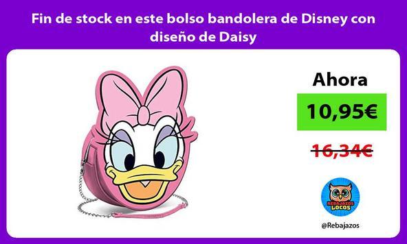 Fin de stock en este bolso bandolera de Disney con diseño de Daisy