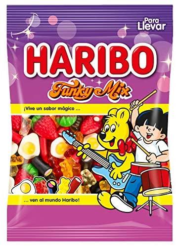 Vuelve el exitoso chollo de este surtido de golosinas Haribo Funky Mix a mini precio y envío Prime