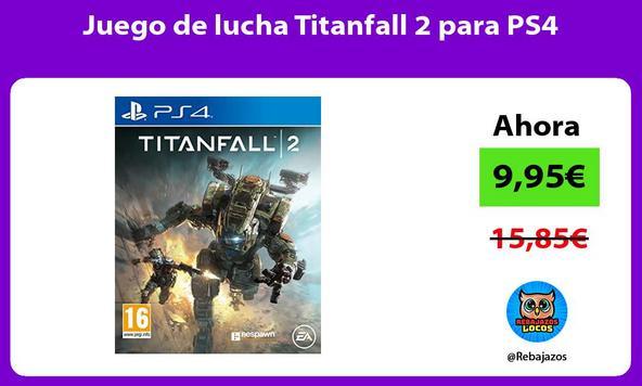 Juego de lucha Titanfall 2 para PS4