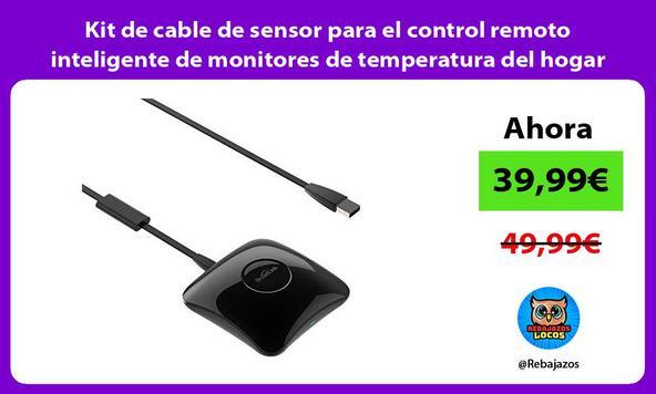 Kit de cable de sensor para el control remoto inteligente de monitores de temperatura del hogar