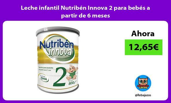 Leche infantil Nutribén Innova 2 para bebés a partir de 6 meses