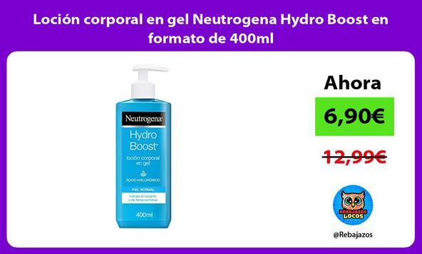 Loción corporal en gel Neutrogena Hydro Boost en formato de 400ml