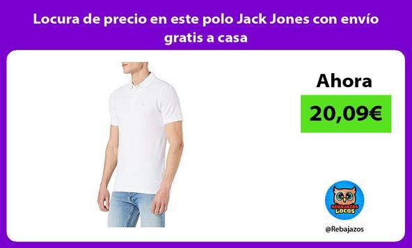 Locura de precio en este polo Jack Jones con envío gratis a casa