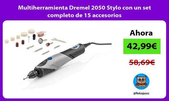 Multiherramienta Dremel 2050 Stylo con un set completo de 15 accesorios