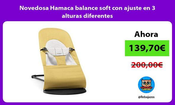 Novedosa Hamaca balance soft con ajuste en 3 alturas diferentes