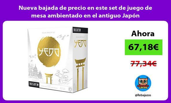 Nueva bajada de precio en este set de juego de mesa ambientado en el antiguo Japón