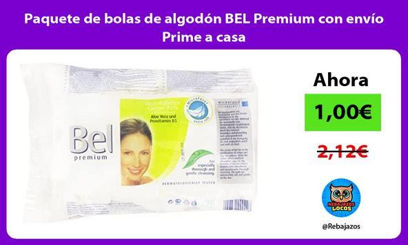 Paquete de bolas de algodón BEL Premium con envío Prime a casa