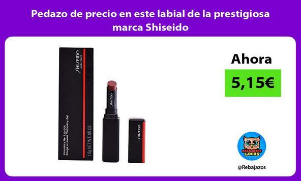 Pedazo de precio en este labial de la prestigiosa marca Shiseido