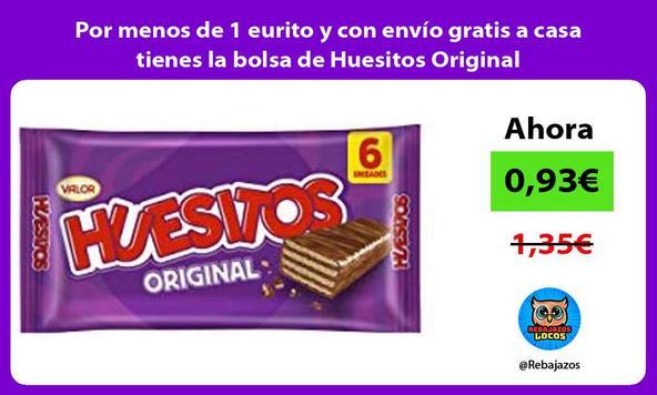 Por menos de 1 eurito y con envío gratis a casa tienes la bolsa de Huesitos Original