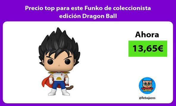 Precio top para este Funko de coleccionista edición Dragon Ball