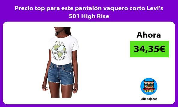 Precio top para este pantalón vaquero corto Levi's 501 High Rise