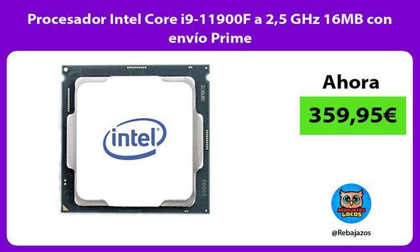 Procesador Intel Core i9-11900F a 2,5 GHz 16MB con envío Prime