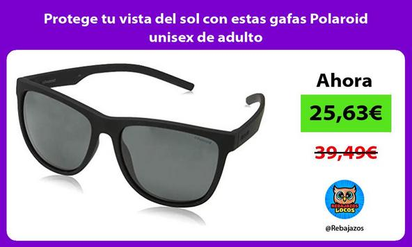 Protege tu vista del sol con estas gafas Polaroid unisex de adulto