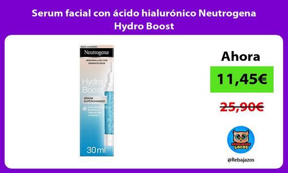 Serum facial con ácido hialurónico Neutrogena Hydro Boost