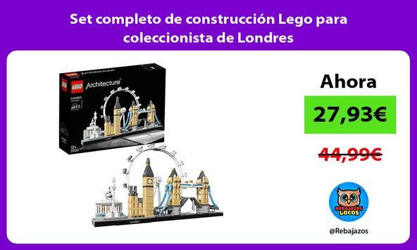 Set completo de construcción Lego para coleccionista de Londres