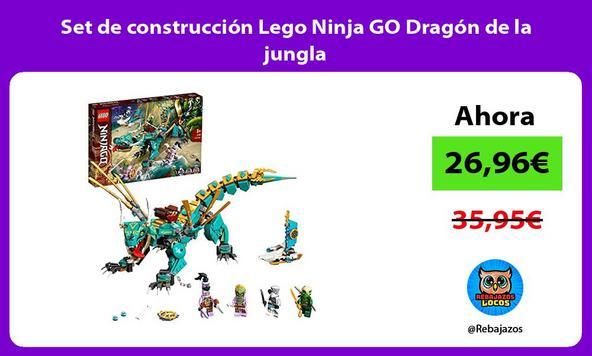 Set de construcción Lego Ninja GO Dragón de la jungla
