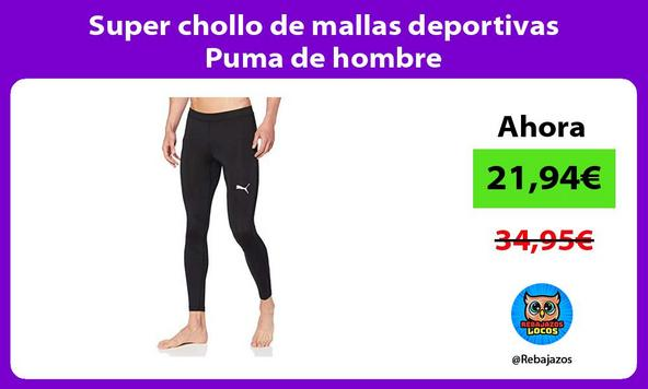 Super chollo de mallas deportivas Puma de hombre