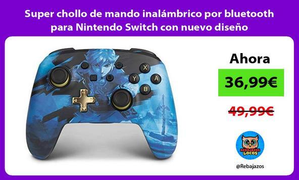 Super chollo de mando inalámbrico por bluetooth para Nintendo Switch con nuevo diseño