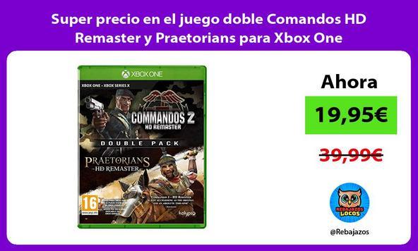 Super precio en el juego doble Comandos HD Remaster y Praetorians para Xbox One