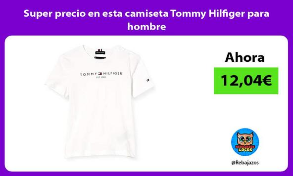 Super precio en esta camiseta Tommy Hilfiger para hombre