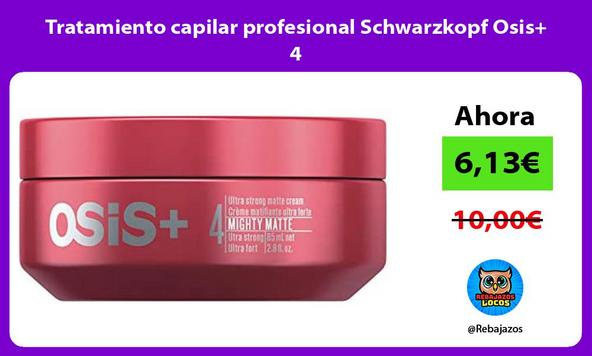 Tratamiento capilar profesional Schwarzkopf Osis+ 4