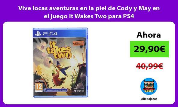 Vive locas aventuras en la piel de Cody y May en el juego It Wakes Two para PS4