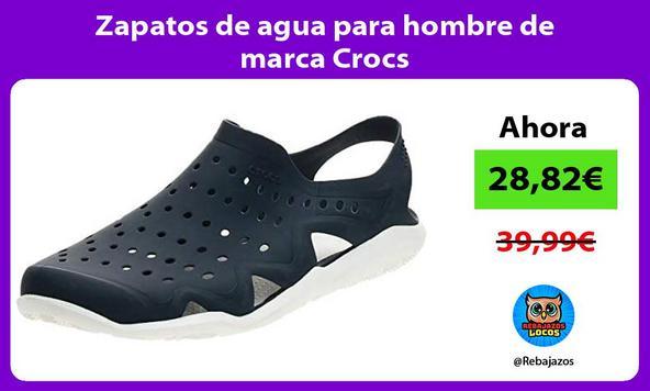 Zapatos de agua para hombre de marca Crocs