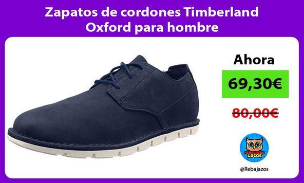 Zapatos de cordones Timberland Oxford para hombre